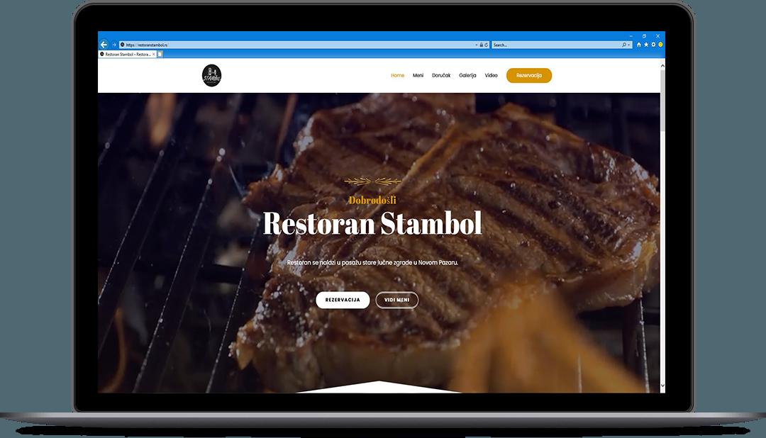 portfolio izrada web sajta