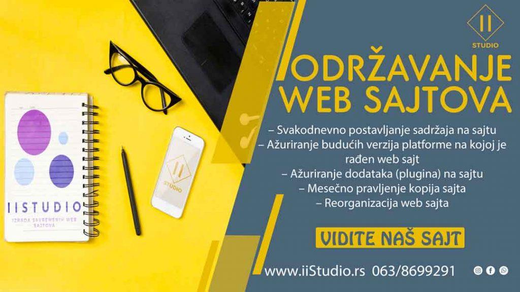 pristupacno održavanje web sajtova