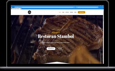 Izrada web sajtova za restorane   Restoran Stambol