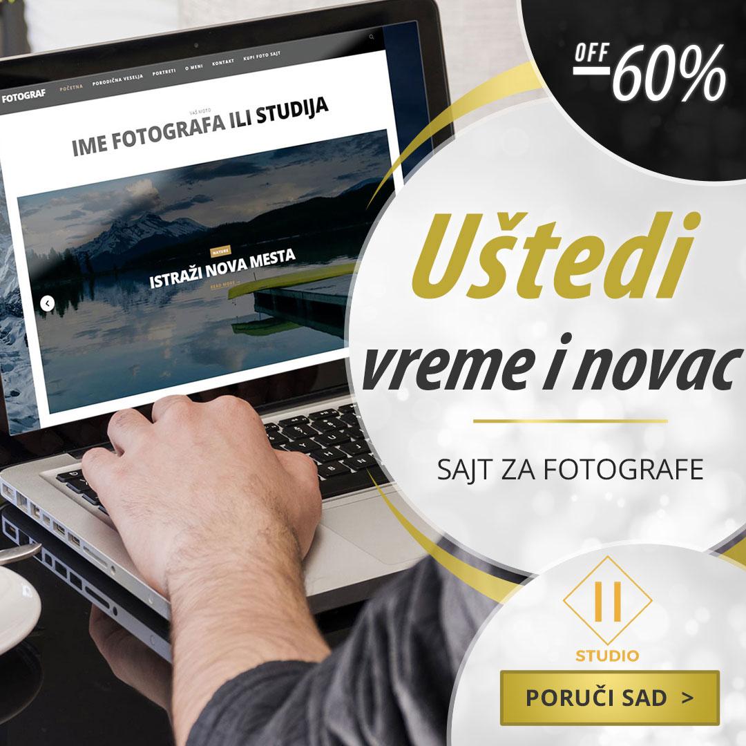izrada sajta za fotografe
