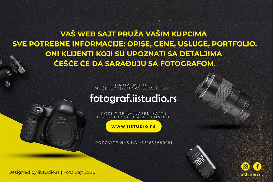 izrada web sajtova za fotografe