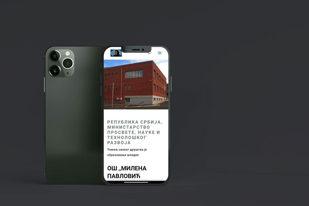 Izrada web sajta i optimizacija za mobilne telefone