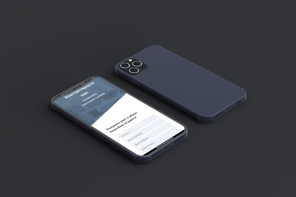 izrada web sajta koji je optimizovan za mobilne uredjaje