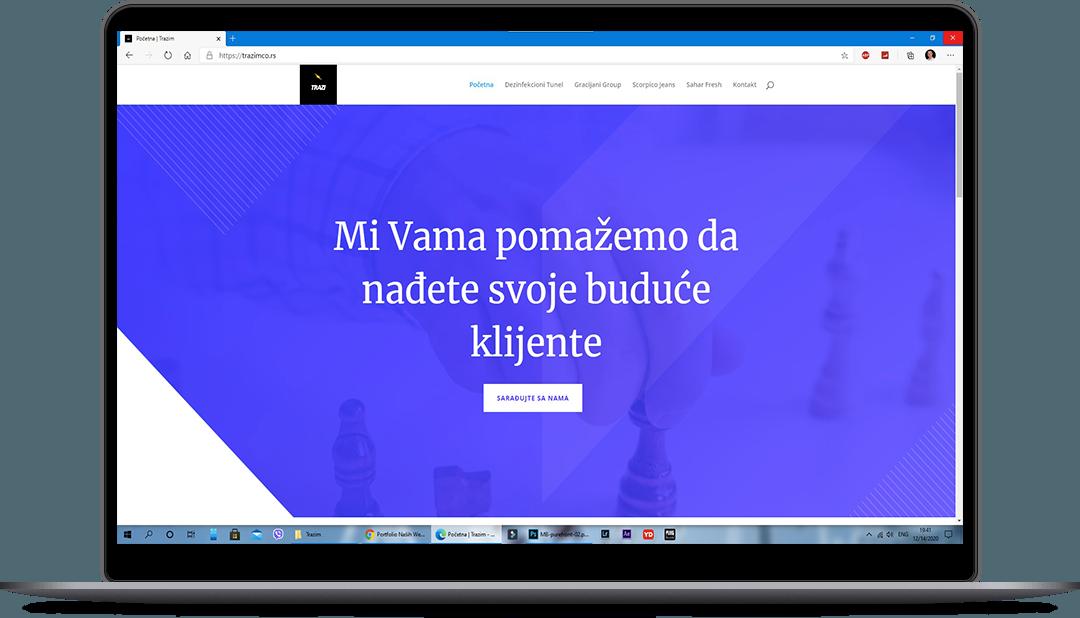 izrada web sajta za firme