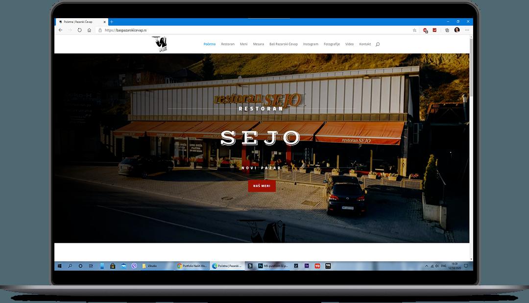 izrada web sajta restoran