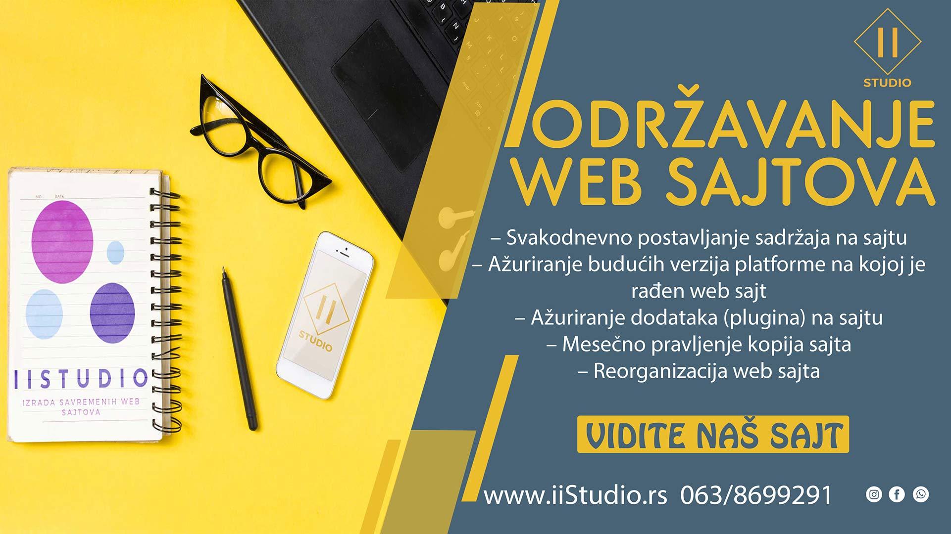 odrzavanje web sajtova za firme